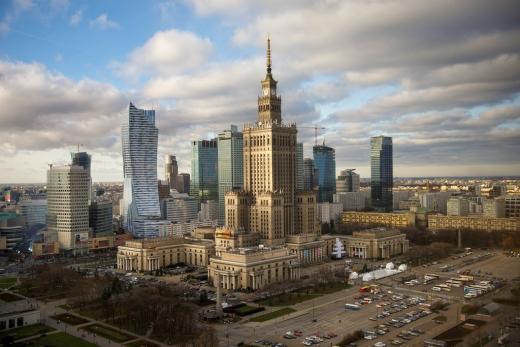 54f3887b43f Шопинг и супермаркеты в современной столице Польши - Варшаве (Warszawa).