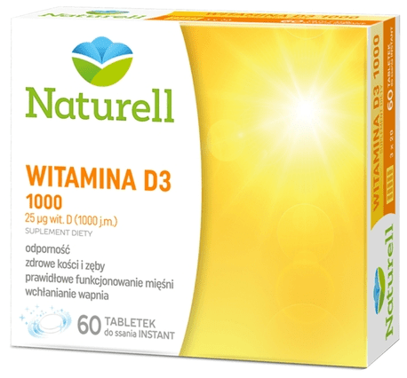 Naturell Witamina D3 1000