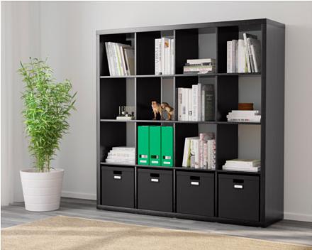 шкафы и стеллажи для офиса Ikea