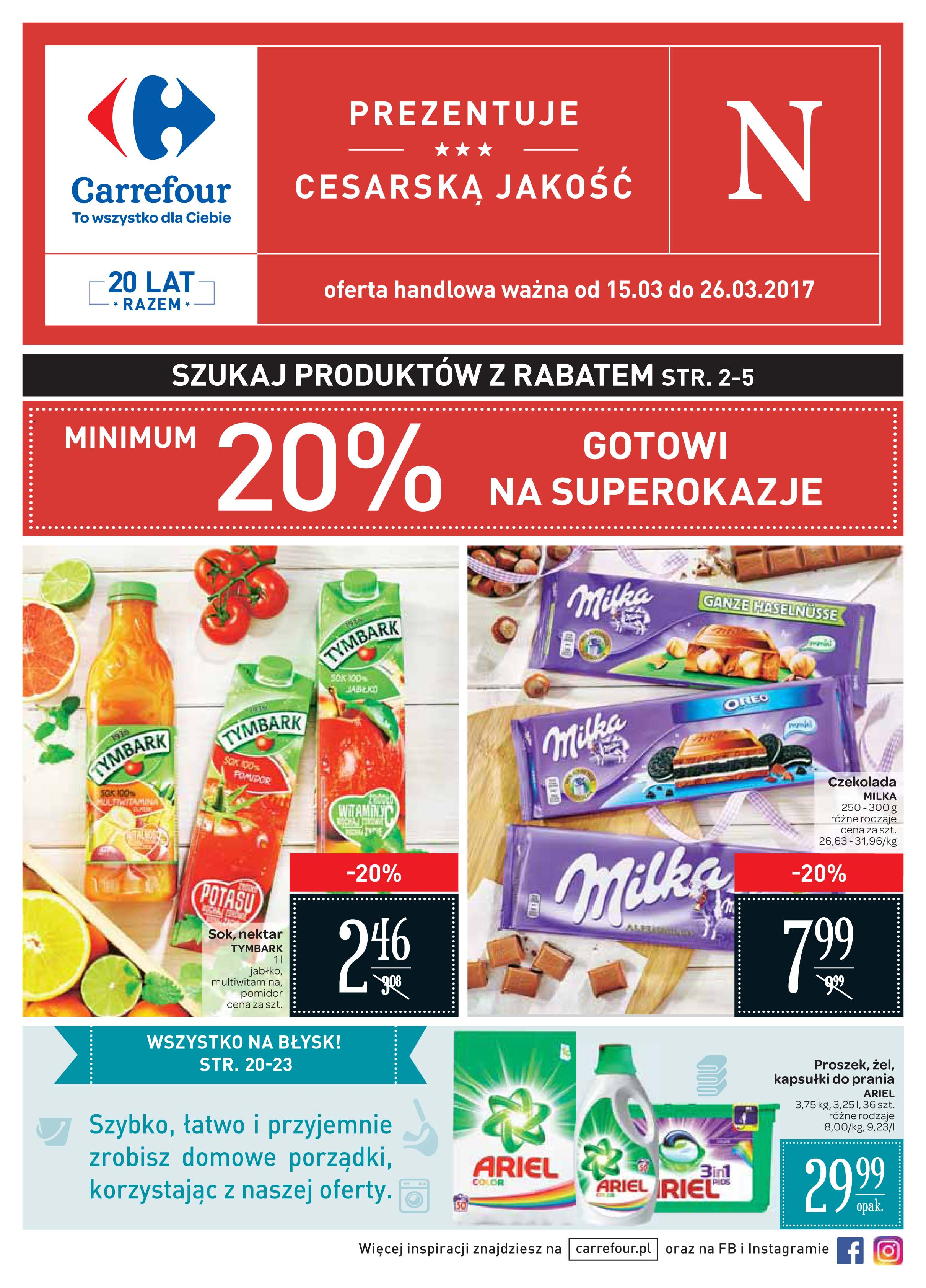 газетка пл, газетка карфур, gazetka carrefour
