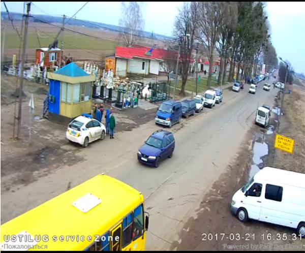 Очередь на границе с Польшей онлайн камеры сегодня