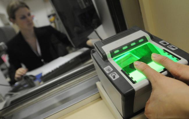 отпечатки пальцев на биометрический паспорт